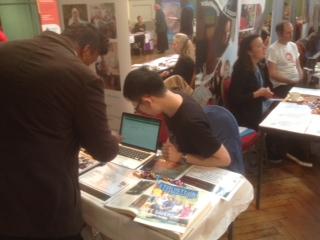 Queen Mary University Volunteer fair